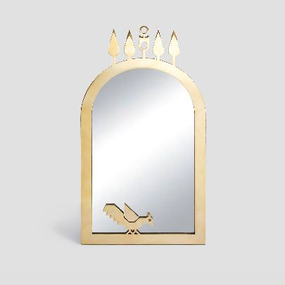 Picture of Four cypress mirror