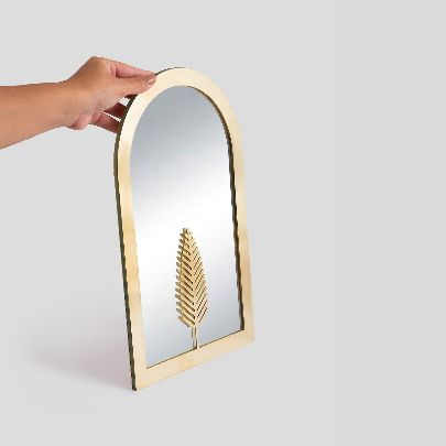 Picture of Simple cypress mirror