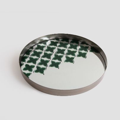 Picture of Leaf mirror tray