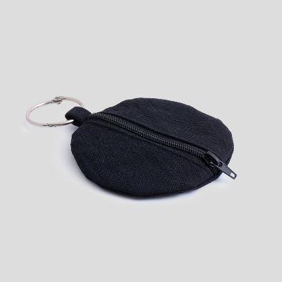 تصویر  کیف کوچک گرد مشکی