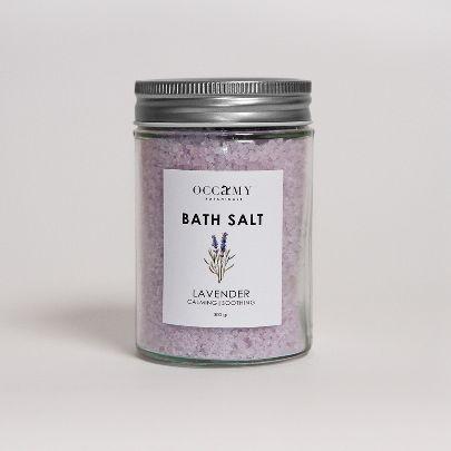 تصویر نمک حمام لوندر