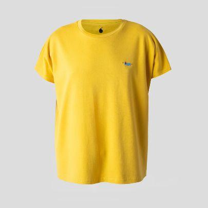 تصویر آستین کوتاه زرد مردانه