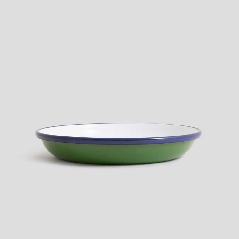 Picture of Green enamel plate
