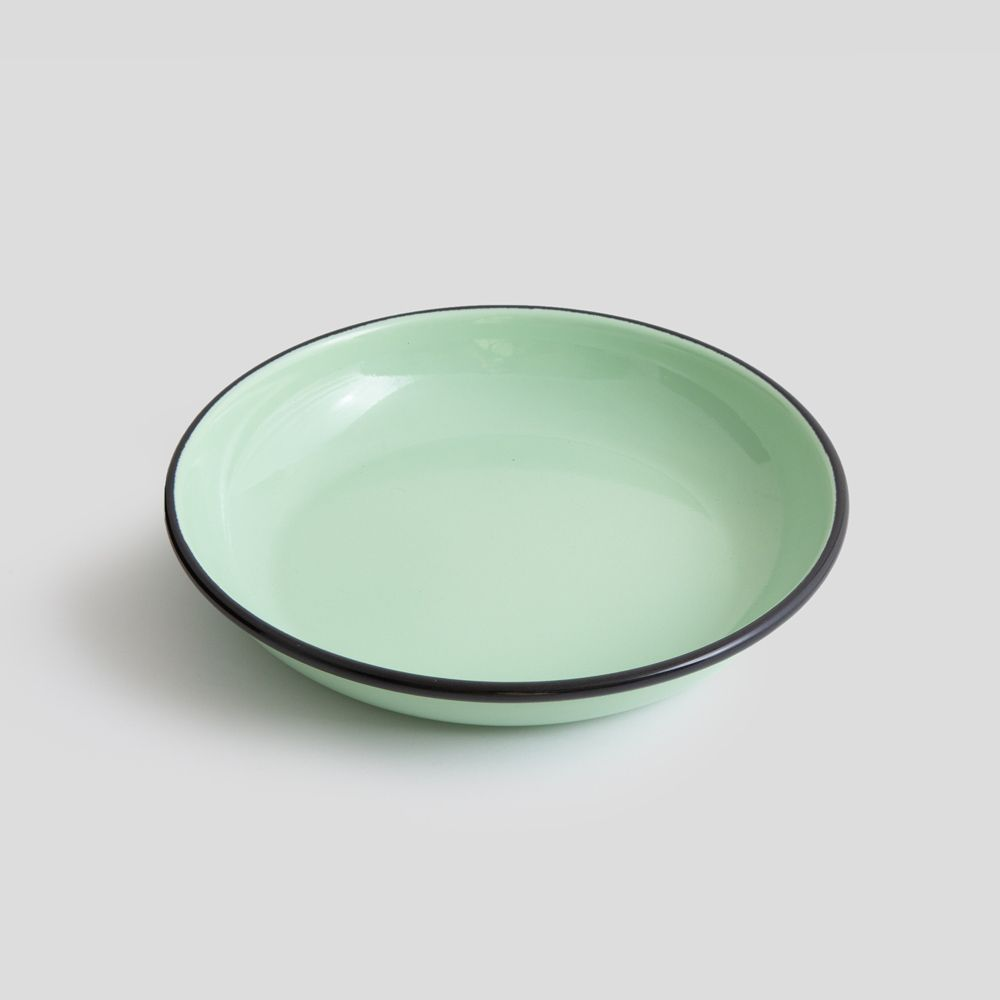 Picture of Mint enamel plate