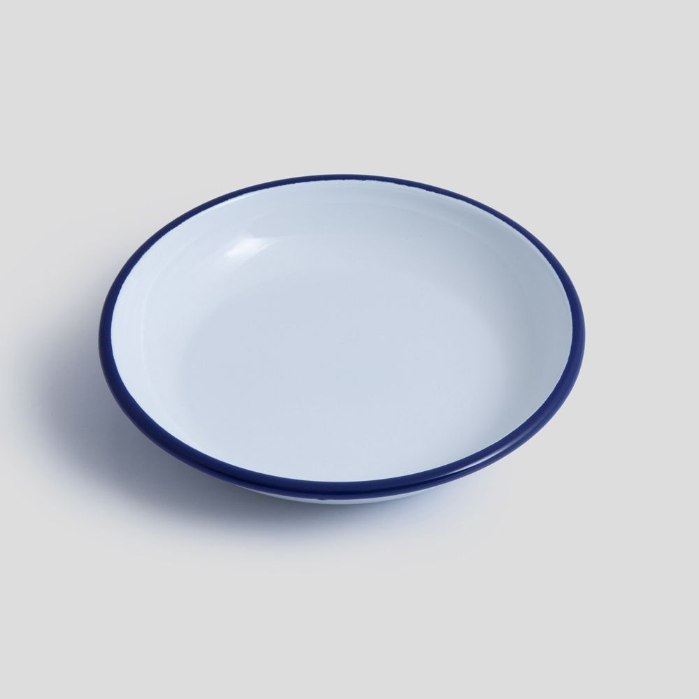 Picture of White enamel Plate