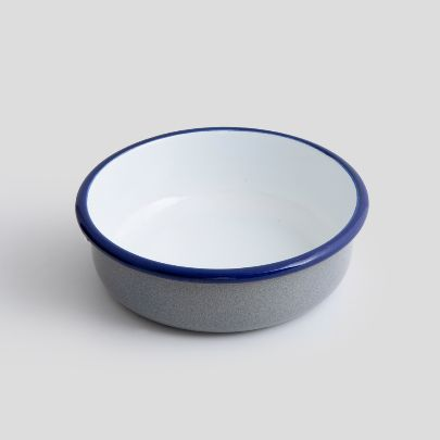 Picture of Gray enamel bowl