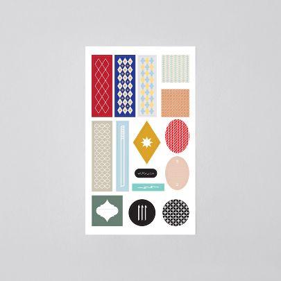 تصویر   بسته ی برچسب مجموعه ۱