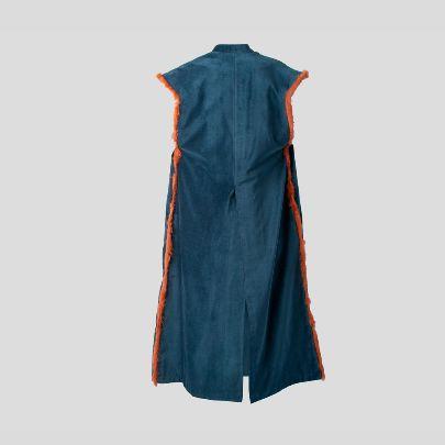 Picture of Blue velvet lion vest