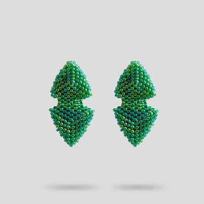 تصویر گوشواره طاووس آکو