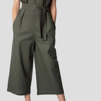 Picture of Green long overall