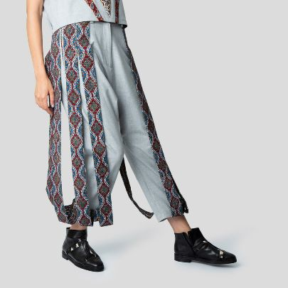 Picture of gray  bazm pants