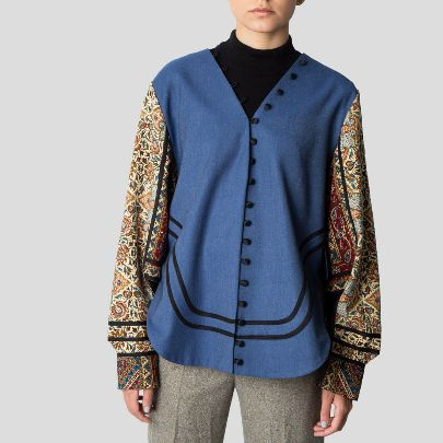Picture of  Blue bazm coat