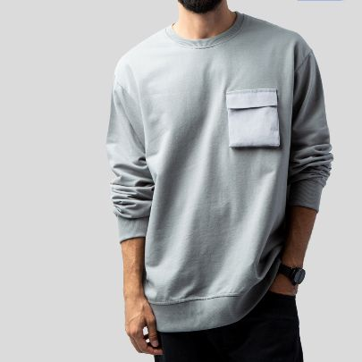 Picture of grey Long Sleeve