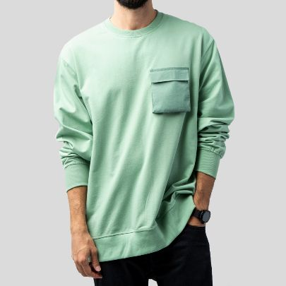 Picture of Men's green Long Sleeve