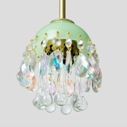 Picture of  Mint and seven colors chandelier