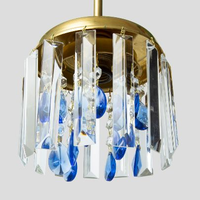 Picture of Blue chandelier