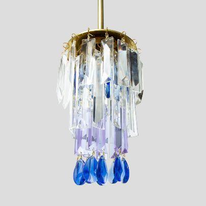Picture of Purple blue chandelier