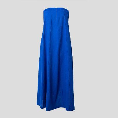 تصویر پیراهن آبی کاربنی