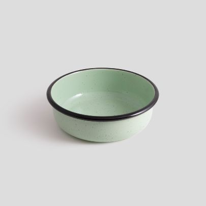 Picture of Spot Mint enamel bowl