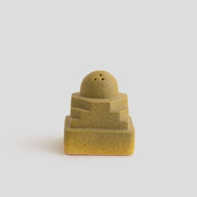 Picture of Yellow potkin salt shaker