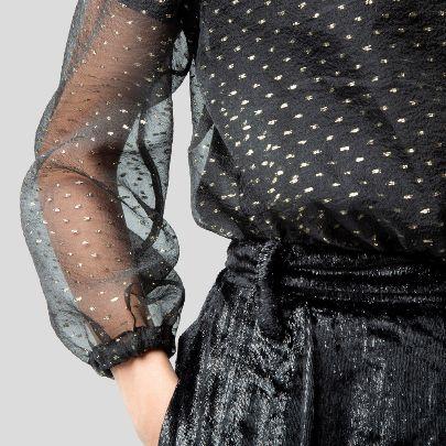 تصویر بادی توری سیاه خالدار