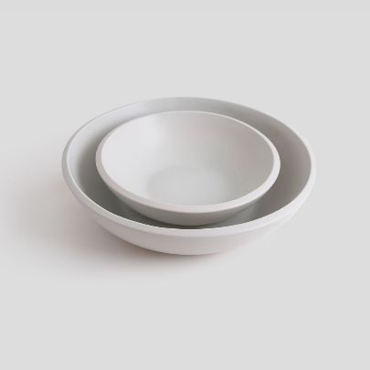 Picture of Two  light grey bowls
