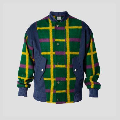 تصویر ژاکت بامبر رنگ رنگی