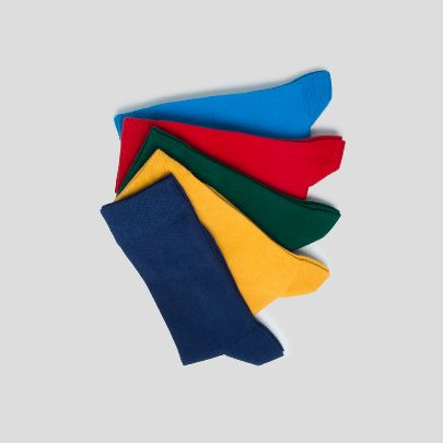 Picture of package of simple socks