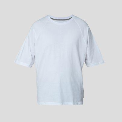تصویر آستین کوتاه فلانک سفید