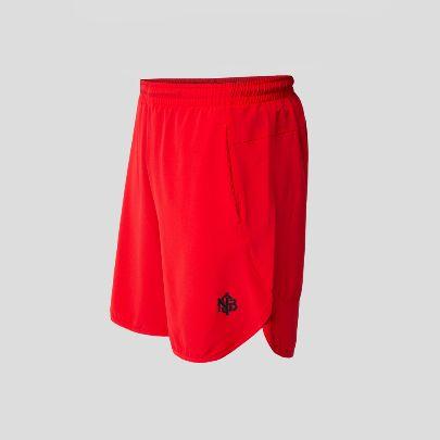 تصویر شلوارک ورزشی قرمز
