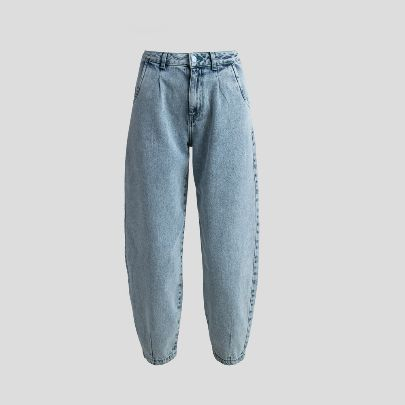 Picture of Acid blue slouchy pants