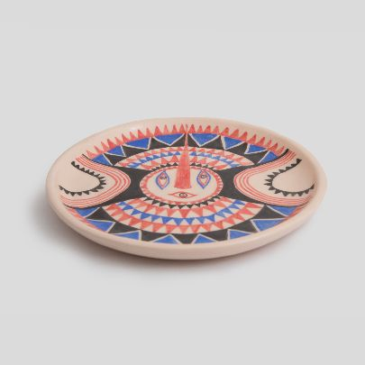 Picture of three eye small dish