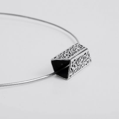 Picture of rectangle necklace