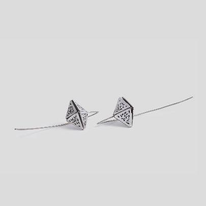 Picture of pyramid earrings