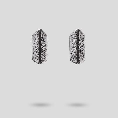Picture of hexagon earrings