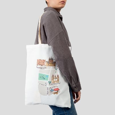 Picture of artillery tote bag