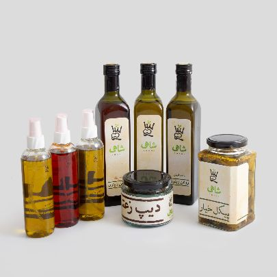 Picture of olive oil spray