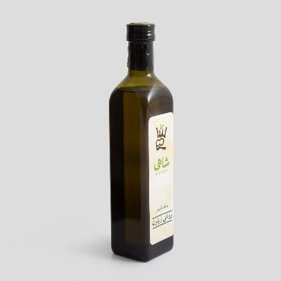 Picture of olive oil with thyme taste