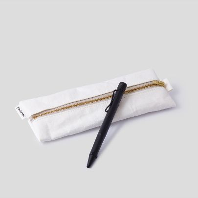 Picture of white pencil pouch