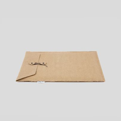 Picture of medium khaki paper folder