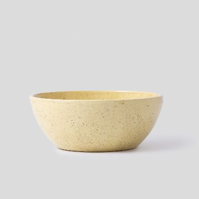 Picture of yellow large son bowl