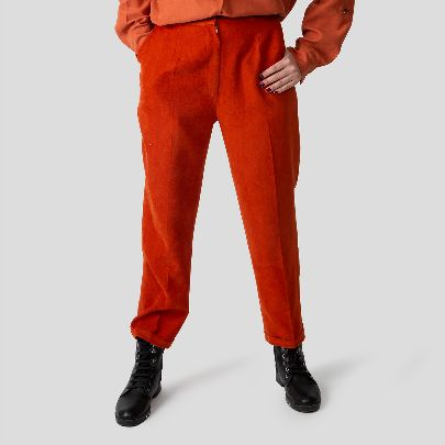 Picture of orange trousers