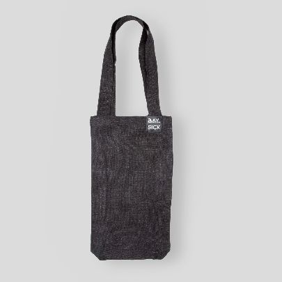Picture of dark gray bag