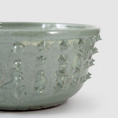 Picture of large green sparked bowl