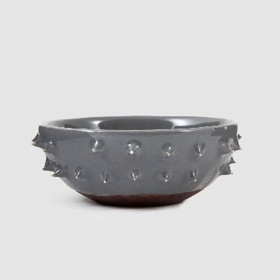 Picture of small gray sparked bowl