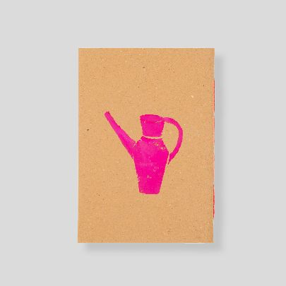Picture of pink pitcher note book
