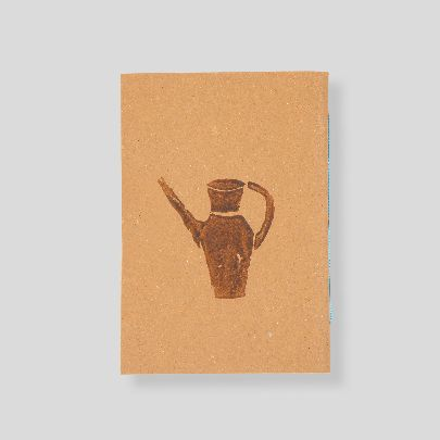 Picture of brown pitcher note book