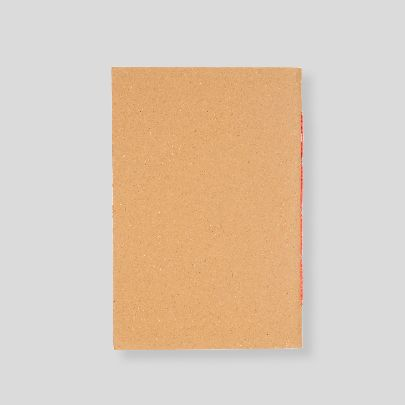 Picture of orange toilet note book
