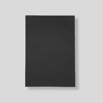 Picture of black limited edition note book