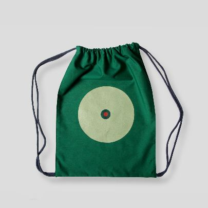 Picture of green back pack